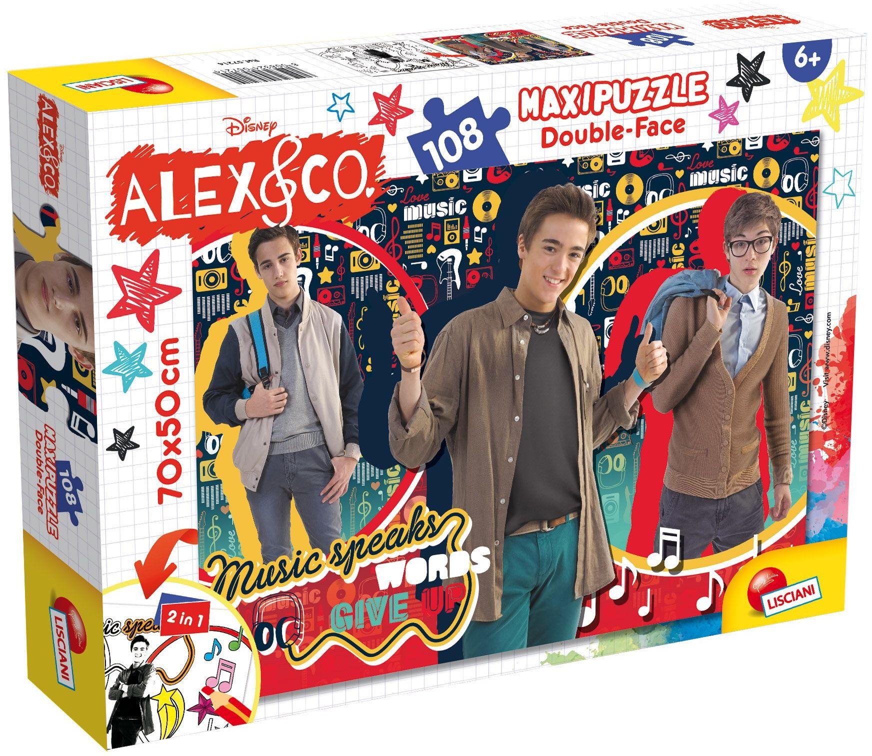 Lisciani spiele 57214  Puzzle DF Supermaxi 108 Alex & Co Music