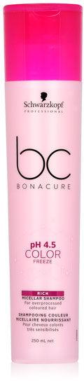 Schwarzkopf BC Color Freeze Rich Shampoo Micelarny szampon do włosów farbowanych 250 ml