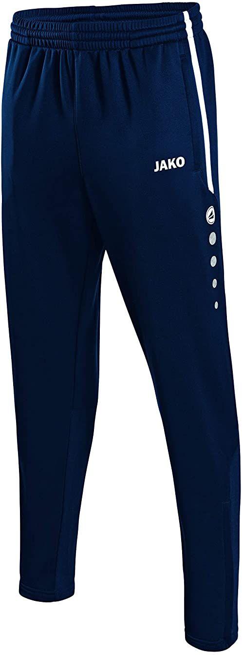 JAKO Męskie spodnie treningowe Active wielokolorowa morski/biały/błękitny M