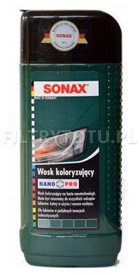 SONAX Wosk koloryzujący zielony 250ml (296741)