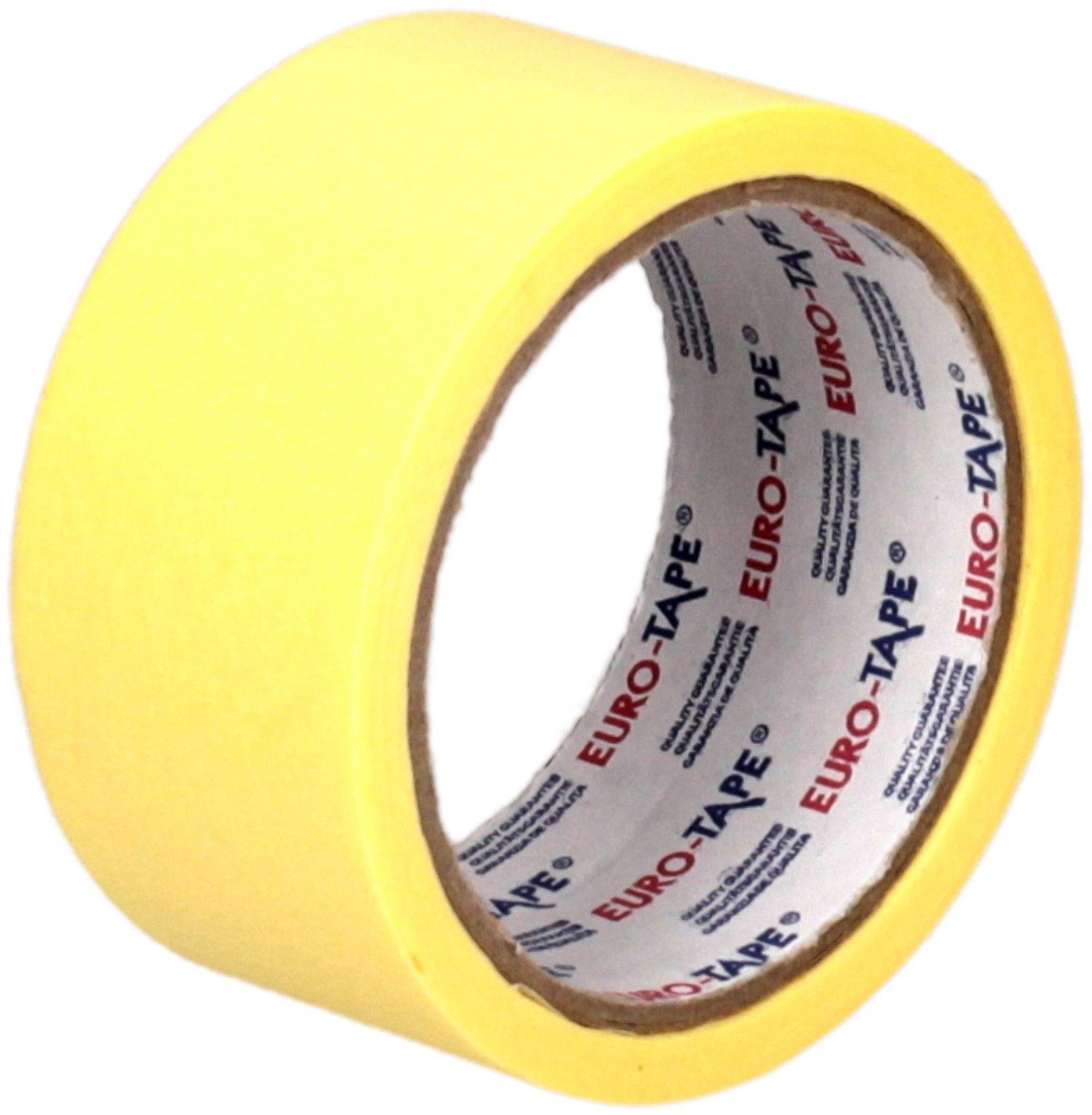 Taśma maskująca malarska Euro-Tape Dalpo, 48mm x 25m Rabaty Porady Hurt Autoryzowana dystrybucja Szybka dostawa