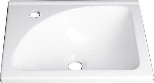 Umywalka meblowa kompozytowa 40x32cm biała