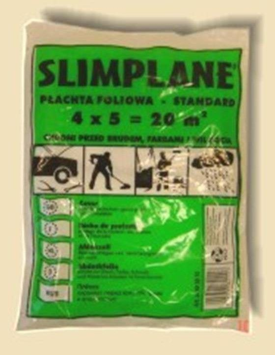 Folia Malarska LDPE Slimplane 4x5mb PAKART 593010