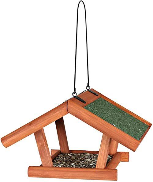 Trixie 5568 Natura karmnik do zawieszenia, 30  18  28 cm, brązowy