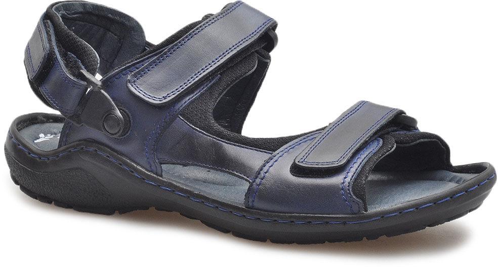 Sandały Pan 392 Granatowe lico