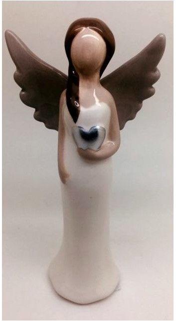 Figurka Anioł ceramiczny Rozmiar: 5.8x3.6x13 cm SKU: SAJY17G018B/C