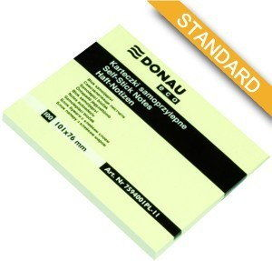 Notes samoprzylepny 76x101 mm DONAU eco /7594001PL11/