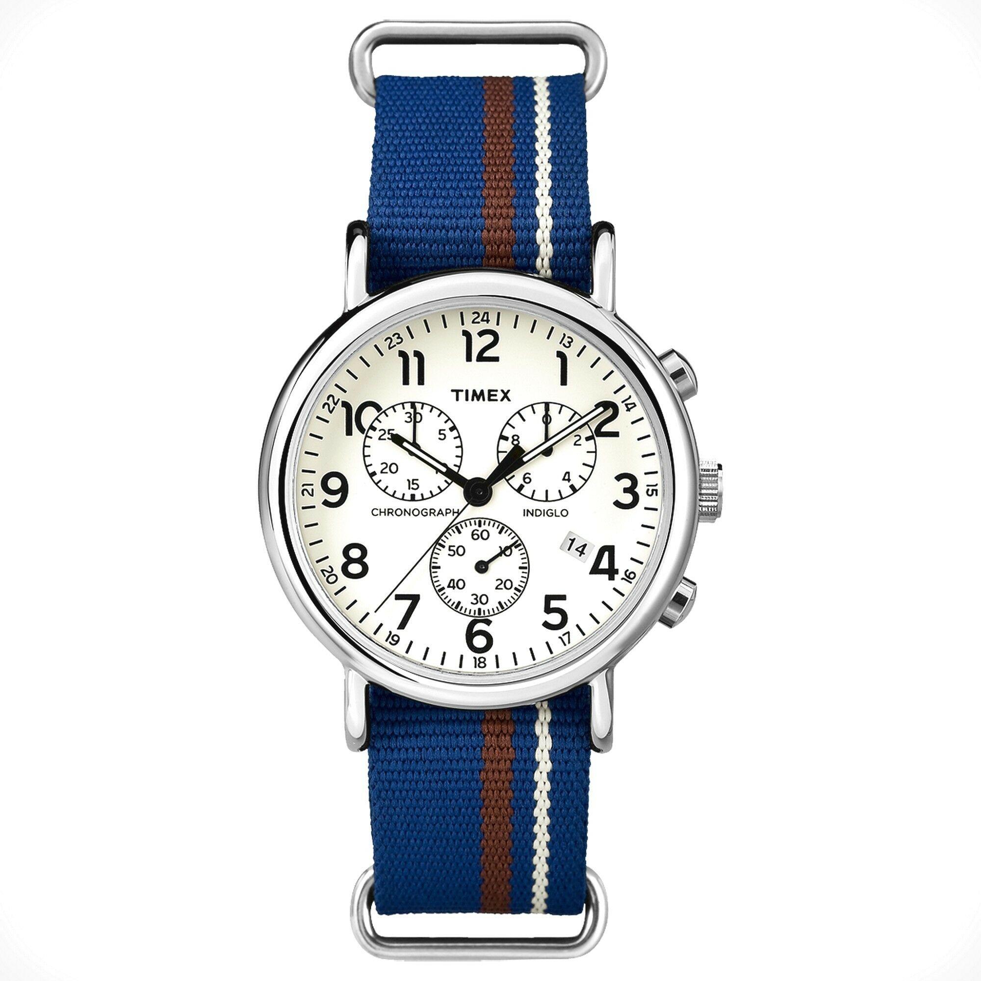 Zegarek Timex TW2P62400 Weekender Chrono Oversized - CENA DO NEGOCJACJI - DOSTAWA DHL GRATIS, KUPUJ BEZ RYZYKA - 100 dni na zwrot, możliwość wygrawerowania dowolnego tekstu.