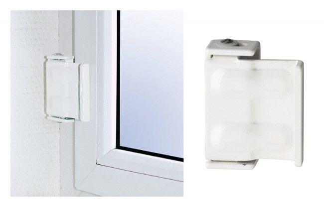 Blokada okienna Abus typ SW1 W C, biała