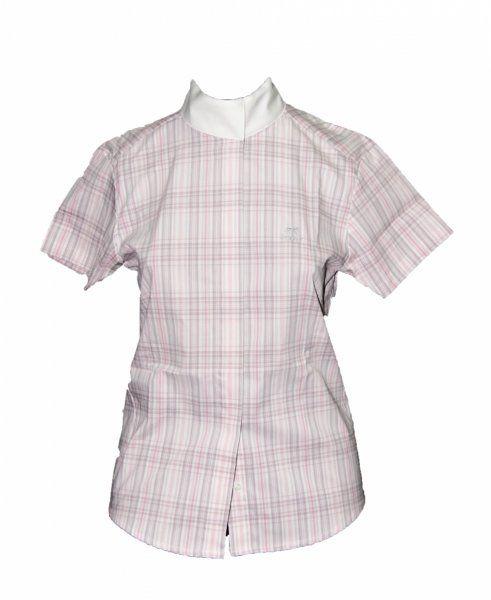 Koszula konkursowa w kratkę junior - Pikeur