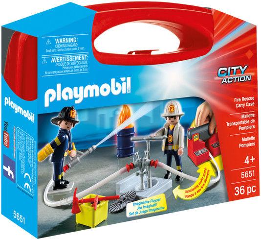 Playmobil - Skrzyneczka Straż Pożarna 5651