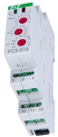 Przekaźnik czasowy 1P 8A 0,1sek-576h 12-264V AC/DC wielofunkcyjny PCS-516UNI