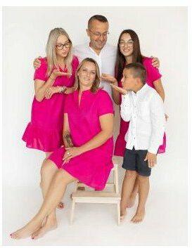 Portret rodzinny  rodzinna sesja zdjęciowa  Białystok