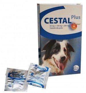 Ceva Cestal plus 8 tabletek - Tabletki Odrobaczające dla Psa.