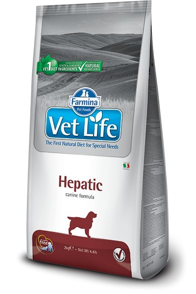Farmina Vet Life Hepatic 2 kg Dog