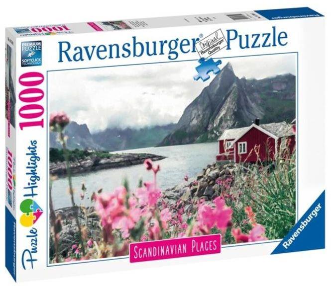 Puzzle 1000 Skandynawski domek - Ravensburger