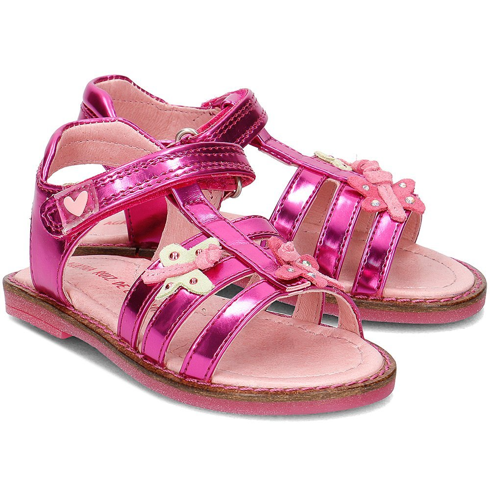 Agatha - Sandały Dziecięce - 172955 B-FUCSIA - Różowy