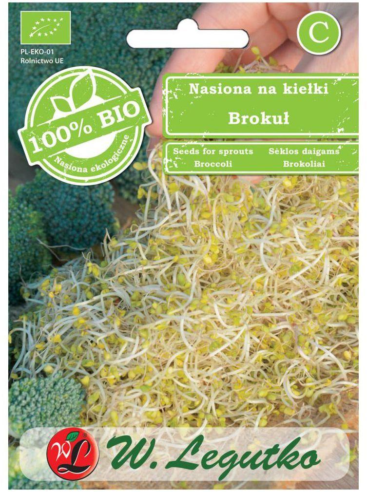 Brokuł BIO nasiona ekologiczne 10 g W. LEGUTKO