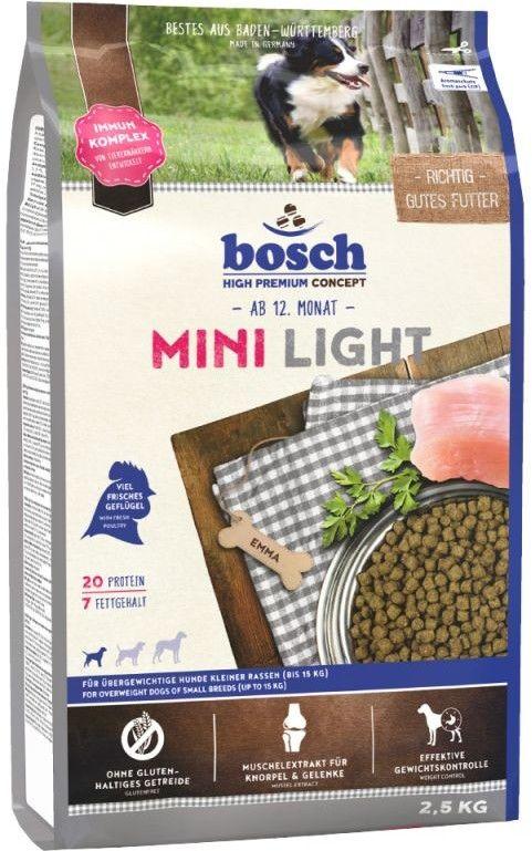 Bosch Adult Mini Light (nowa receptura) 2,5kg