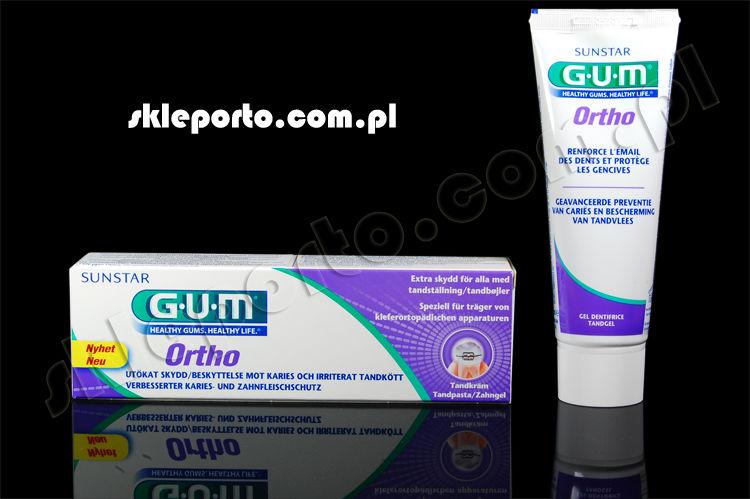 GUM Ortho pasta ortodontyczna 75 ml - higiena ortodontyczna