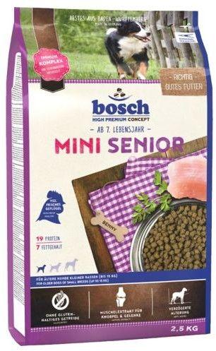 Bosch Mini Senior (nowa receptura) 2,5kg