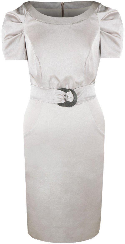 Sukienki Sukienka Suknie FSU203 BEŻOWY