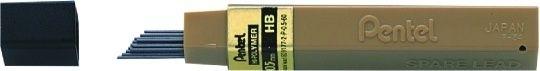 Grafity ołówkowe PENTEL 2B 0,7 mm HI-POLYMER - X06752