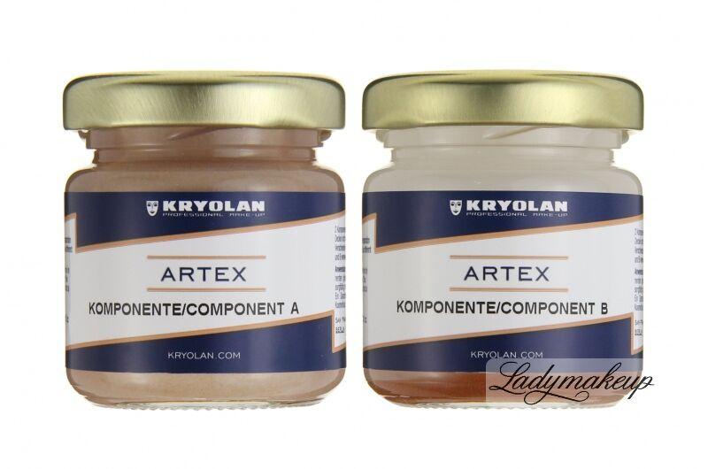 KRYOLAN - ARTEX - Sztuczna skóra (preparat dwuskładnikowy) - ART. 6560