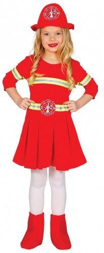 Kostium Dziewczynka Strażak, Strażaczka