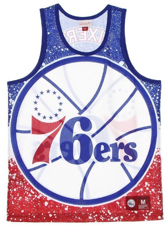 Koszulka bezrękawnik Mitchell & Ness NBA Philadelphia 76ers Tank Top