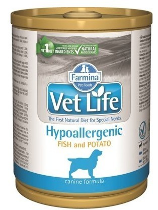 FARMINA Vet Life Hipo Fish & Potato 300 g Dog