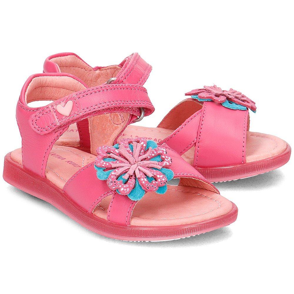Agatha - Sandały Dziecięce - 172965 B-FUCSIA - Różowy