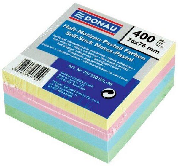 Notes samoprzylepny 38x51 mm neon DONAU 200 kartek/7578001PL-99/