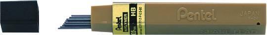 Grafity ołówkowe PENTEL 2H 0,5 mm HI-POLYMER - X06748