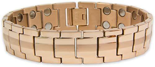 Magnet Expert  Unisex bransoletka magnetyczna Rare Earth z zapięciem na zatrzask, Neptun