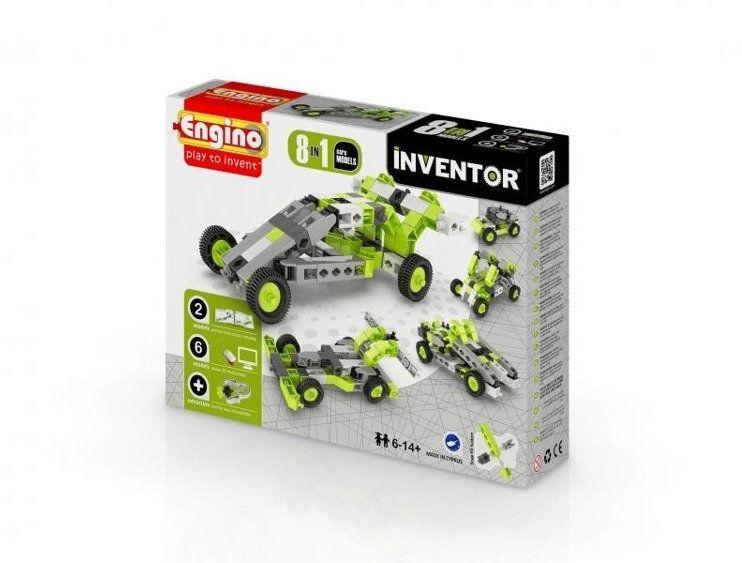 Inventor 8 models cars - samochody - Engino