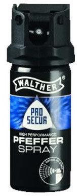 Gaz pieprzowy Walther Pro Secur 53ml. - strumień stożkowy