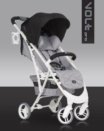 Wózek spacerowy Volt Pro Anthracite EURO-CART