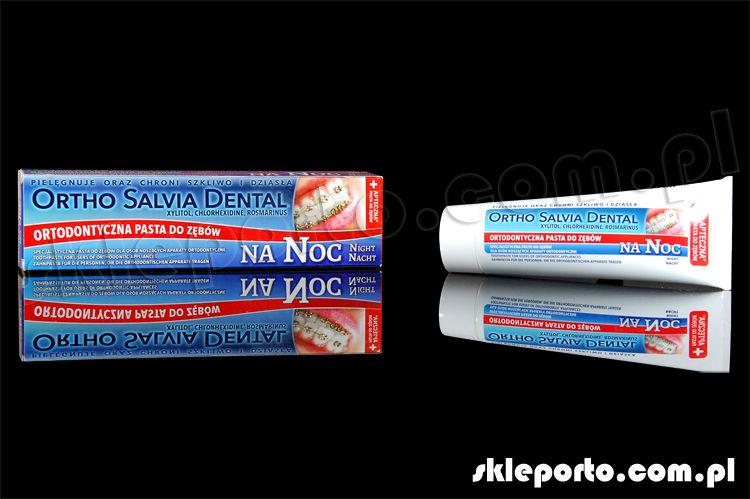 Salvia dental noc 75 ml pasta ortodontyczna - higiena ortodontyczna