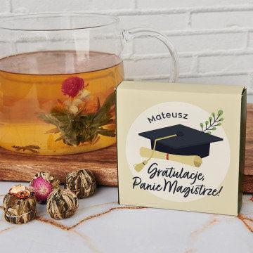 Gratulacje, Panie Magistrze - Herbata kwitnąca