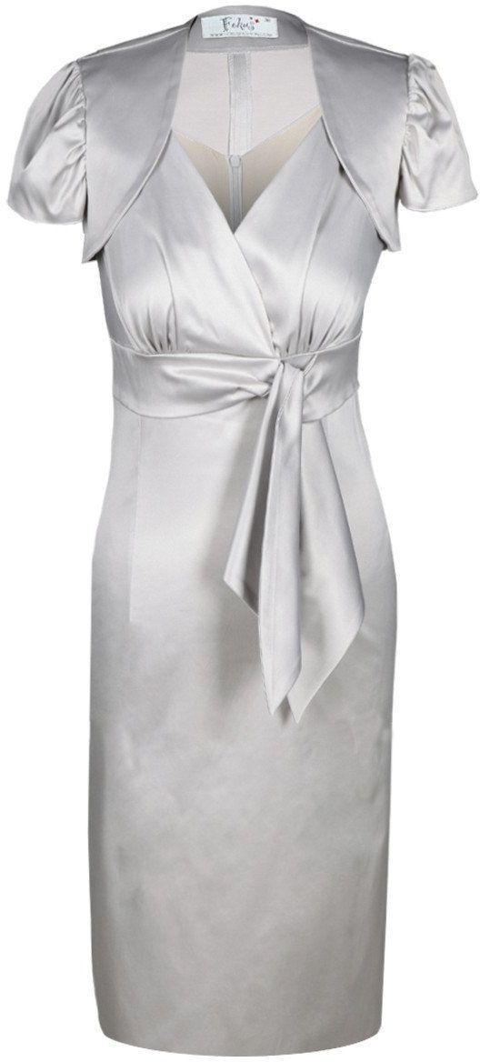 Sukienka FSU189 SZARY BLADY