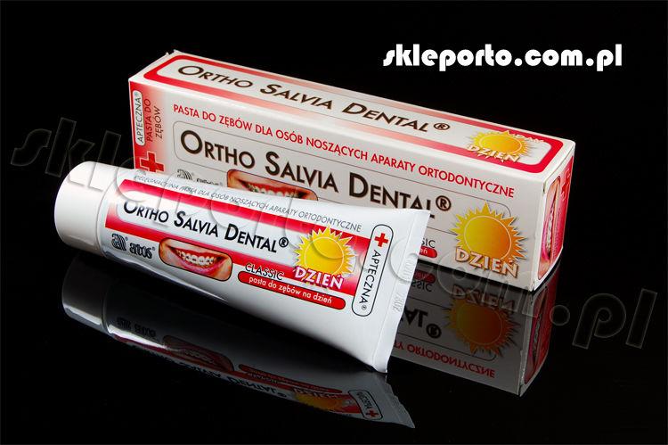 Salvia Dental dzień 75 ml pasta ortodontyczna - higiena ortodontyczna