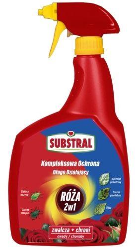 Kompleksowa ochrona spray  róża 2w1  800 ml substral