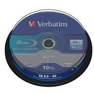 Verbatim BluRay BD-R 25 GB x6 10 szt. SINGLE LAYER