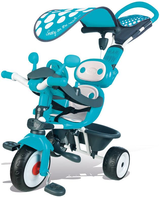 Smoby - Rowerek Baby Drive Komfort 4w1 Niebieski 740601