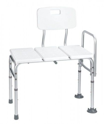 Ławeczka ławka do wanny biała