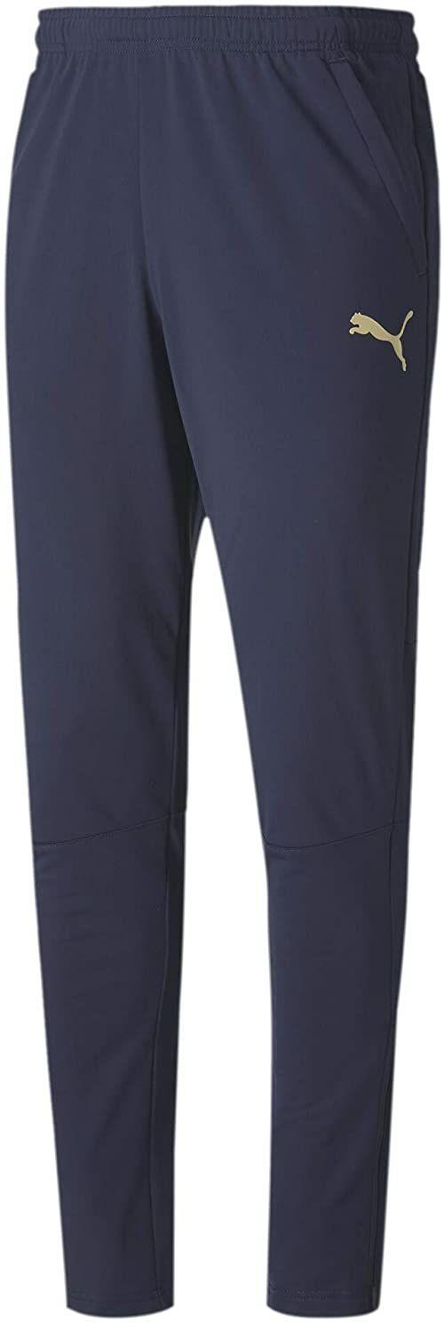 PUMA męskie figc spodnie treningowe W.z/P spodnie dresowe Peacoat-puma Team Gold XXL