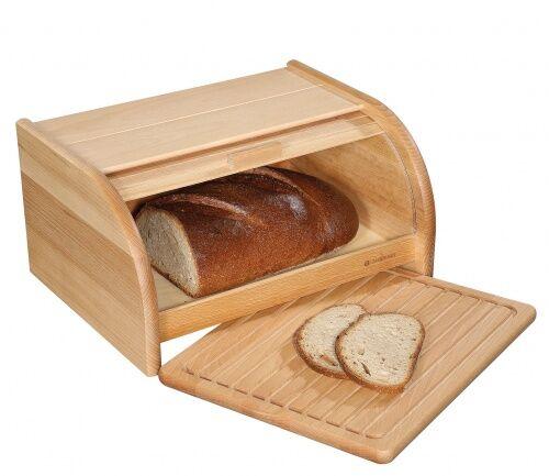Chlebak z deską do krojenia Zassenhaus bukowy