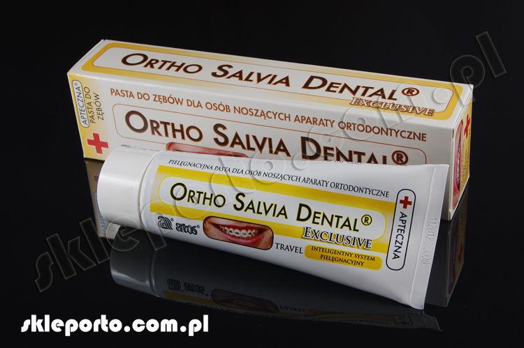 Salvia Dental Exlusive 75 ml pasta ortodontyczna - higiena ortodontyczna
