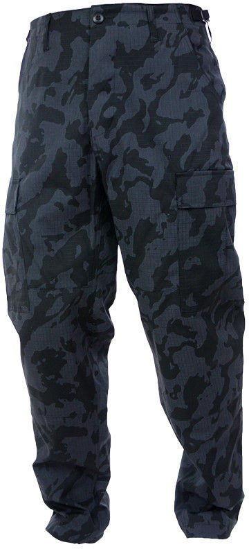 MFH Spodnie BDU US Army Rip-Stop Night Camo